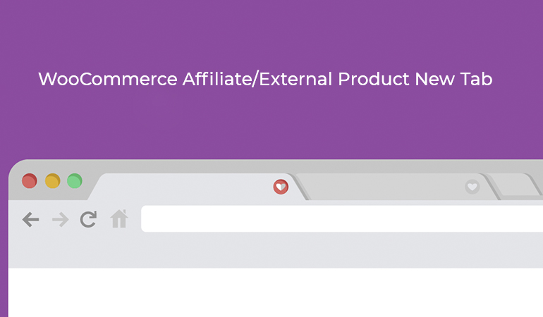 WooCommerce Affiliate External Product New Tab